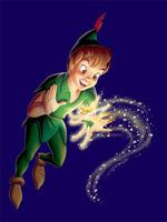 Peter Pan eats a lot of fish